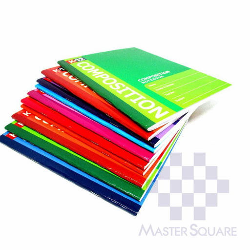 K-12 Composition Notebook 80 Leaves Set Of 10-Master Square