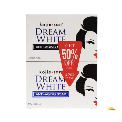 Kojie San Dream White Aging Soap 2n1-Master Square