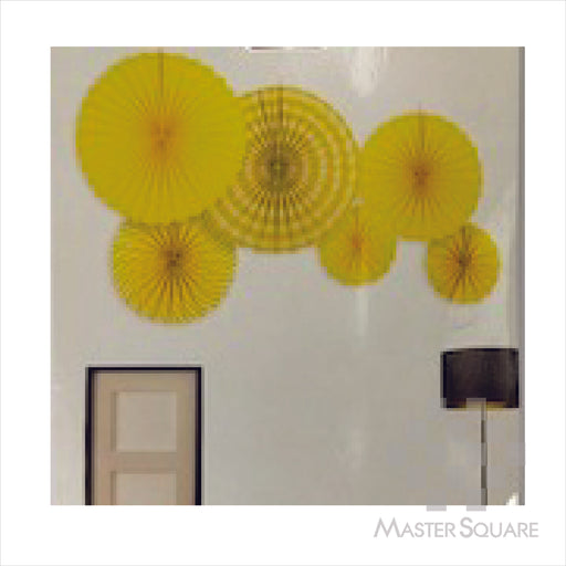Paper Fan 6 In 1p572 Yellow-Master Square