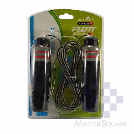 Flott Jumping Rope Adjust With Foam Grip Fjr-1326-Master Square