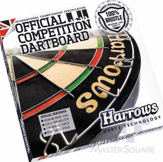 Harrows Official Competition Dartboard-Master Square