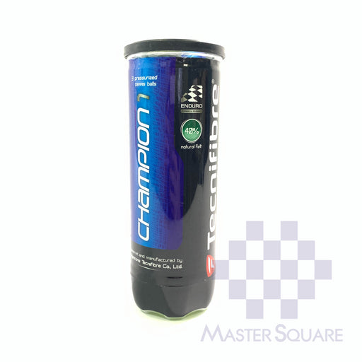 Tecnifibre Champion Tennis Ball 3's-Master Square