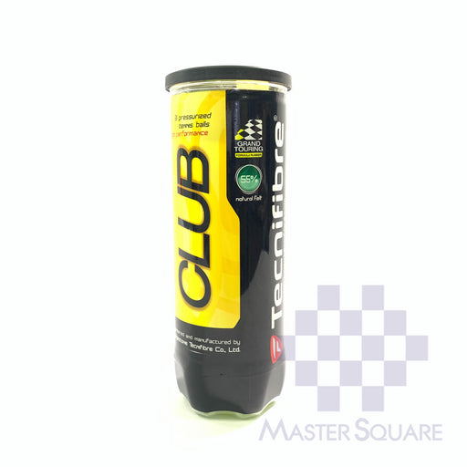 Tecnifibre Club Tennis Ball 3's-Master Square