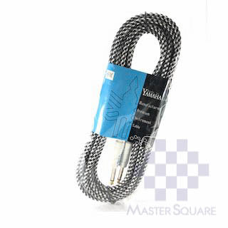 Yamaha Electric Guitar Cable 6m Black-Master Square