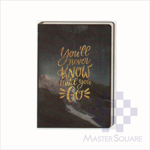 Spring Leaf Clip Binder Notebook 9 Division 5 X 7 In 16 Lvs / Pin Binder 60gsm Brightside Design 3-Master Square