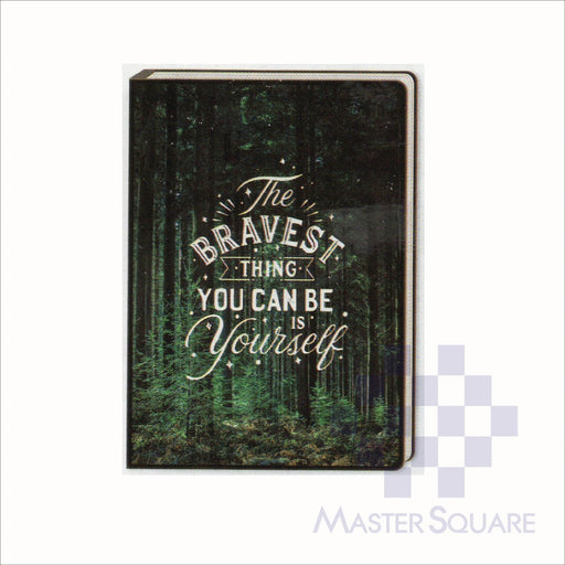 Spring Leaf Clip Binder Notebook 9 Division 5 X 7 In 16 Lvs / Pin Binder 60gsm Brightside Design 5-Master Square