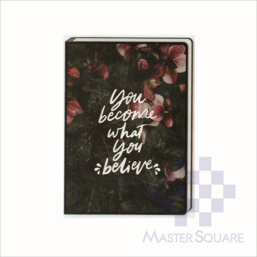 Spring Leaf Clip Binder Notebook 9 Division 5 X 7 In 16 Lvs / Pin Binder 60gsm Brightside Design 7-Master Square