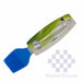 Kitchen Tool Silicon Basting Brush Blue-Master Square