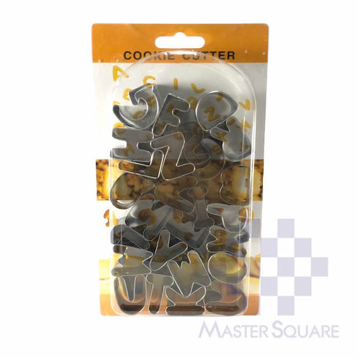 Cookie Cutter Alphabet-Master Square