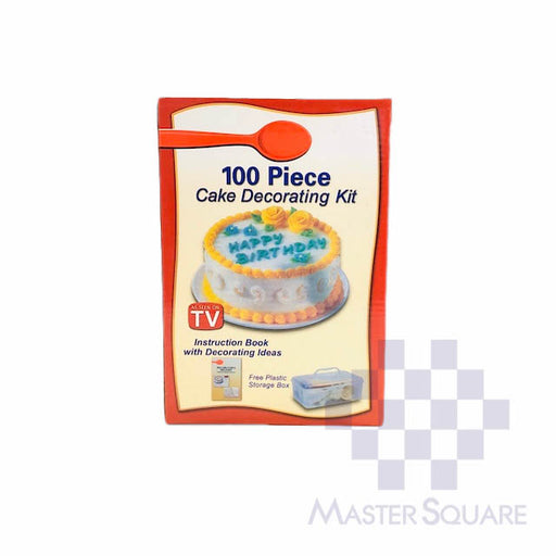100 Piece Cake Decorating Kit-Master Square