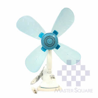 Clip Fan 12 In Blue-Master Square