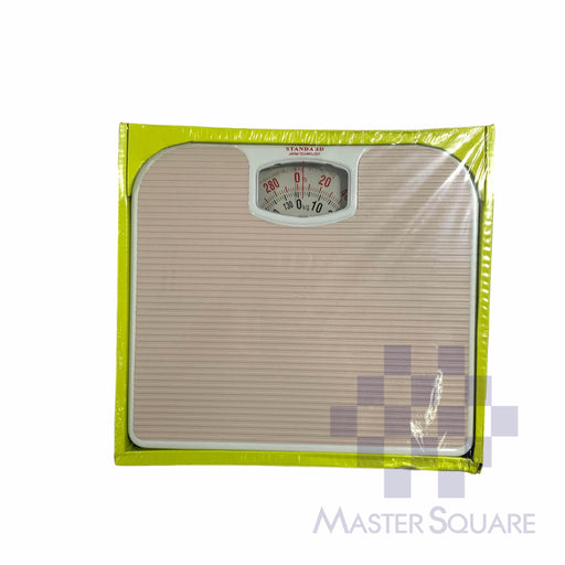 World Standard Mechanical Personal Bathroom Scale Br2016 Cream-Master Square