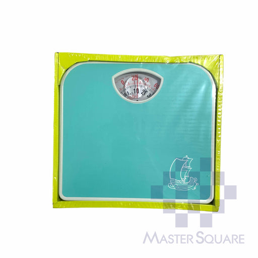 World Standard Mechanical Personal Bathroom Scale Br2017 Teal-Master Square