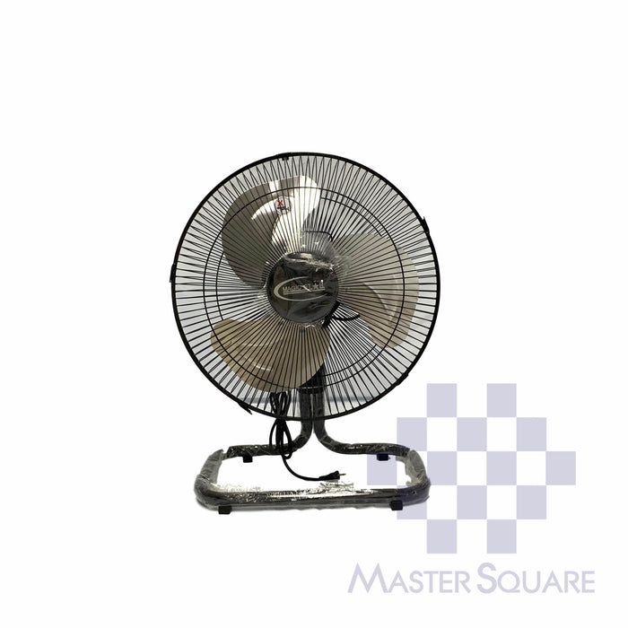 Magic Star Industrial 14 In Floor Fan Metal Blades-Master Square