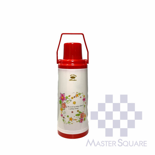 Lotus Thermos 9606 2.2 Liter Capacity Red-Master Square