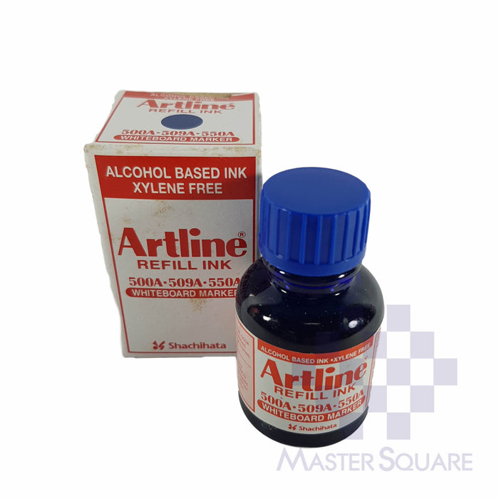 Artline Whiteboard Marker Refill Ink For 500a, 509a, 550a 20cc-Master Square