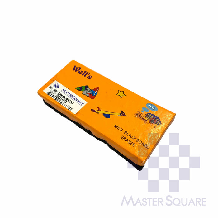 Wells Mini Whiteboard Eraser 4 X 9 Cm-Master Square