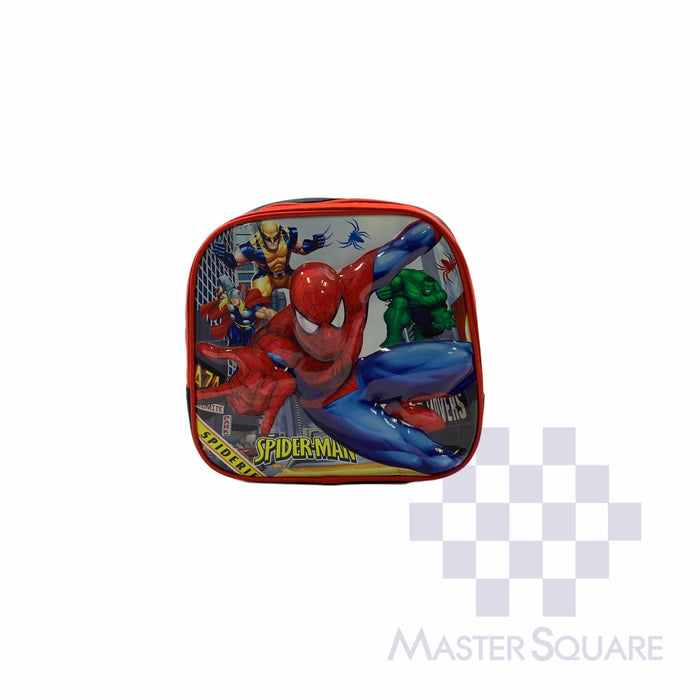 Toddler Backpack 1011 Mini Spiderman 10 X 10 X 3 In-Master Square