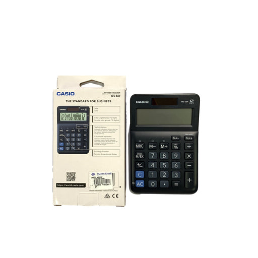 Original Casio Calculator Ms-20f 12 Digits-Master Square