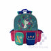 School Backpack Fbou0814bp With Front And Side Pockets Glittered Unicorn 14.5 X 11 X 4.5 In-Master Square