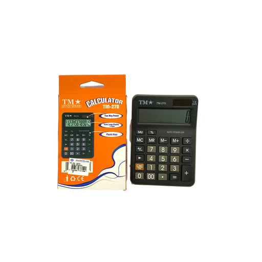 Tm Calculator Tm-270 12 Digits-Master Square