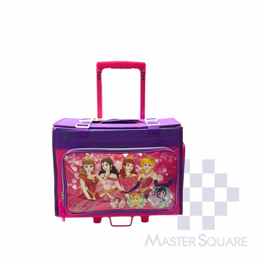 Pilot Stroller Bag 20-01 Princesses In Pink And Purple 12 X 16 X 8.5 In-Master Square