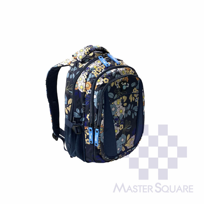 Trek Backpack Trou19 Light Weight 3 Zipper 17 X 13 X 7 In-Master Square