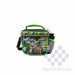 Lunch Bag 2057lb With Shoulder Strap And Tumbler Geobot In Green 6.5 X 8.5 X 6 In-Master Square