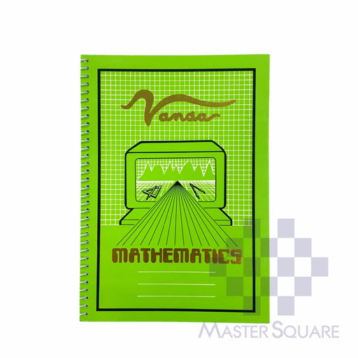 Vanda Mathematics Graphing Notebook 6 X 8.5 In 80 Lvs-Master Square