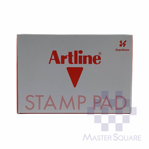 Artline Stamp Pad #0 56x90mm Red-Master Square