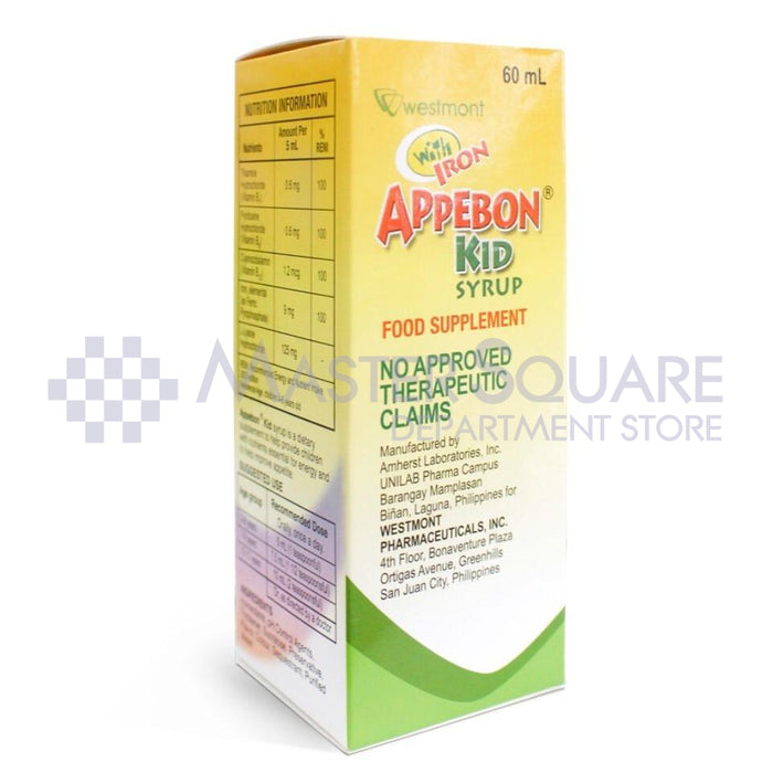 Appebon Kid Syrup 60ml-Master Square