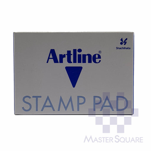 Artline Stamp Pad #1 67x106mm Blue-Master Square