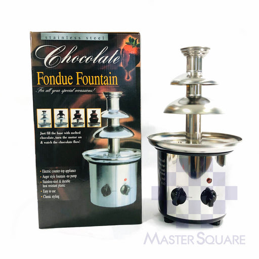 Chocolate Fountain 4layer-Master Square