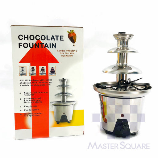 Chocolate Fountain 3layer-Master Square