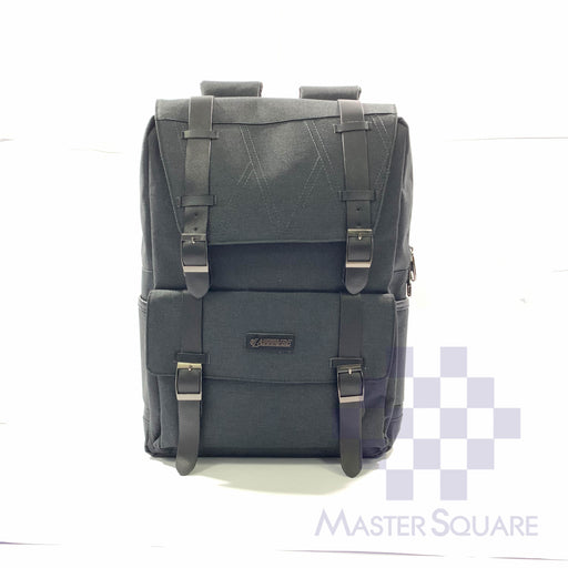 Latitude Backpack Fb0u720 Flap With Side Pockets Charcoal Grey 17 X 12 X 5 In-Master Square