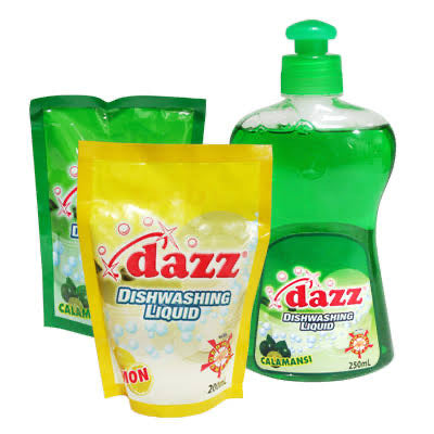 Dazz Dishwashing Liq Lime 200g-Master Square