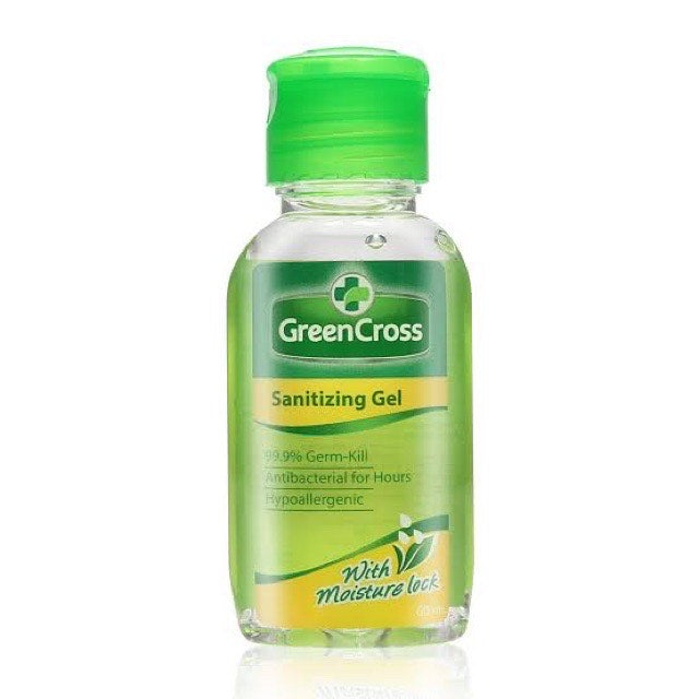 Green Cross Sanitizing Gel 60ml-Master Square
