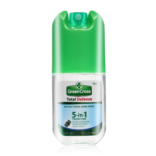 Green Cross Total Defense Antibacterial Hand Spray 40ml-Master Square
