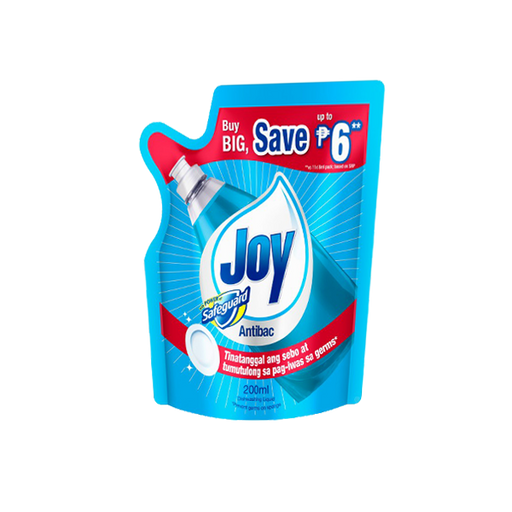 Joy Dish Washing Liq Antibac Sg 190ml-Master Square