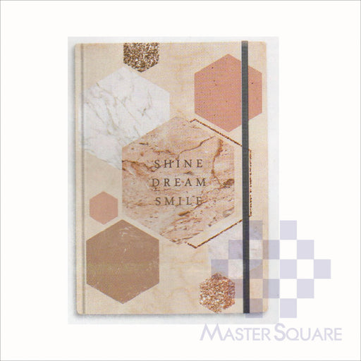 Spring Leaf Hardbound Bookbind Notebook 148 X 210 Mm 120lvs Marble Notes Design 1-Master Square