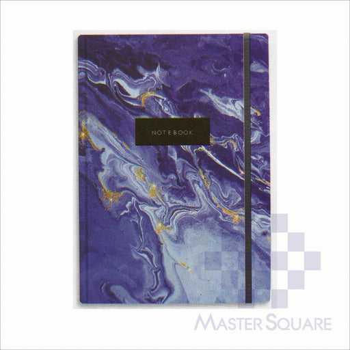 Spring Leaf Hardbound Bookbind Notebook 148 X 210 Mm 120lvs Marble Notes Design 6-Master Square
