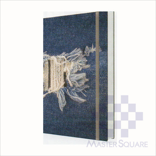 Spring Leaf Hardbound Bookbind Notebook 148 X 210 Mm 120lvs Denim Design 2-Master Square