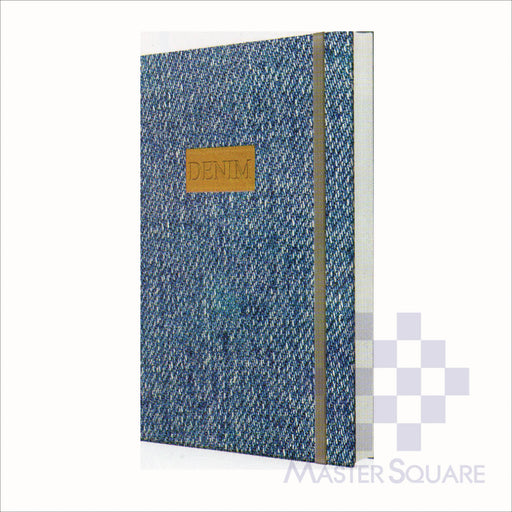 Spring Leaf Hardbound Bookbind Notebook 148 X 210 Mm 120lvs Denim Design 6-Master Square