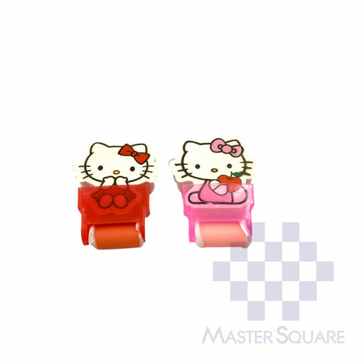Pencil Eraser With Shaving Roller Approx Size 5 X 3 Cm Pack Of 2 Hello Kitty-Master Square