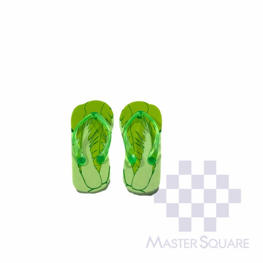Pencil Eraser Slippers Approx Size 5 X 5 Cm Pack Of 2 Green-Master Square