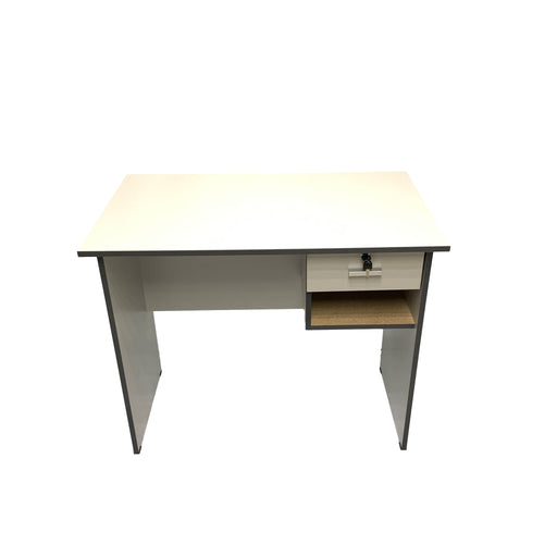 Laminated Writng Desk Grey H736 X W909 X D538 Mm-Master Square