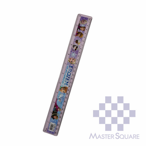 Character Straight Rule Plastic 12 In Frozen-Master Square
