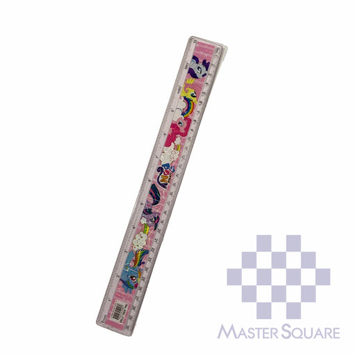 Character Straight Rule Plastic 12 In My Little Pony-Master Square