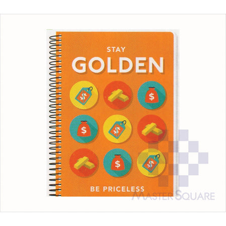 Spring Leaf Spiral Notebook 6 X 8.5 In 80 Lvs Express Pick Up Lines Design 1-Master Square