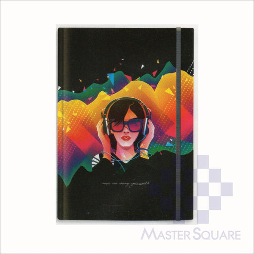 Spring Leaf Hardbound Bookbind Notebook 148 X 210 Mm 120lvs Blackbook Design 8-Master Square
